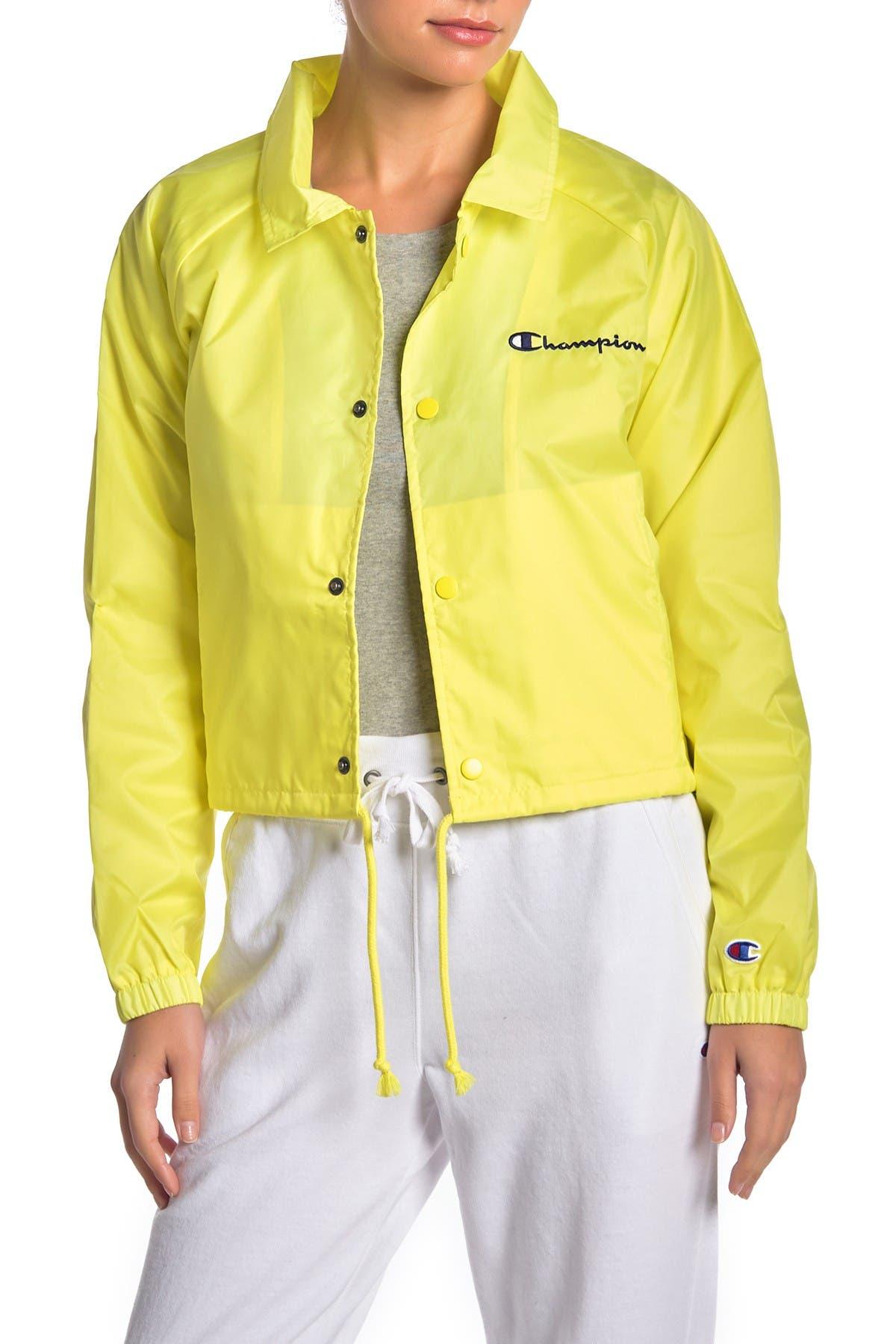 Image of Champion Cropped Coaches Jacket
