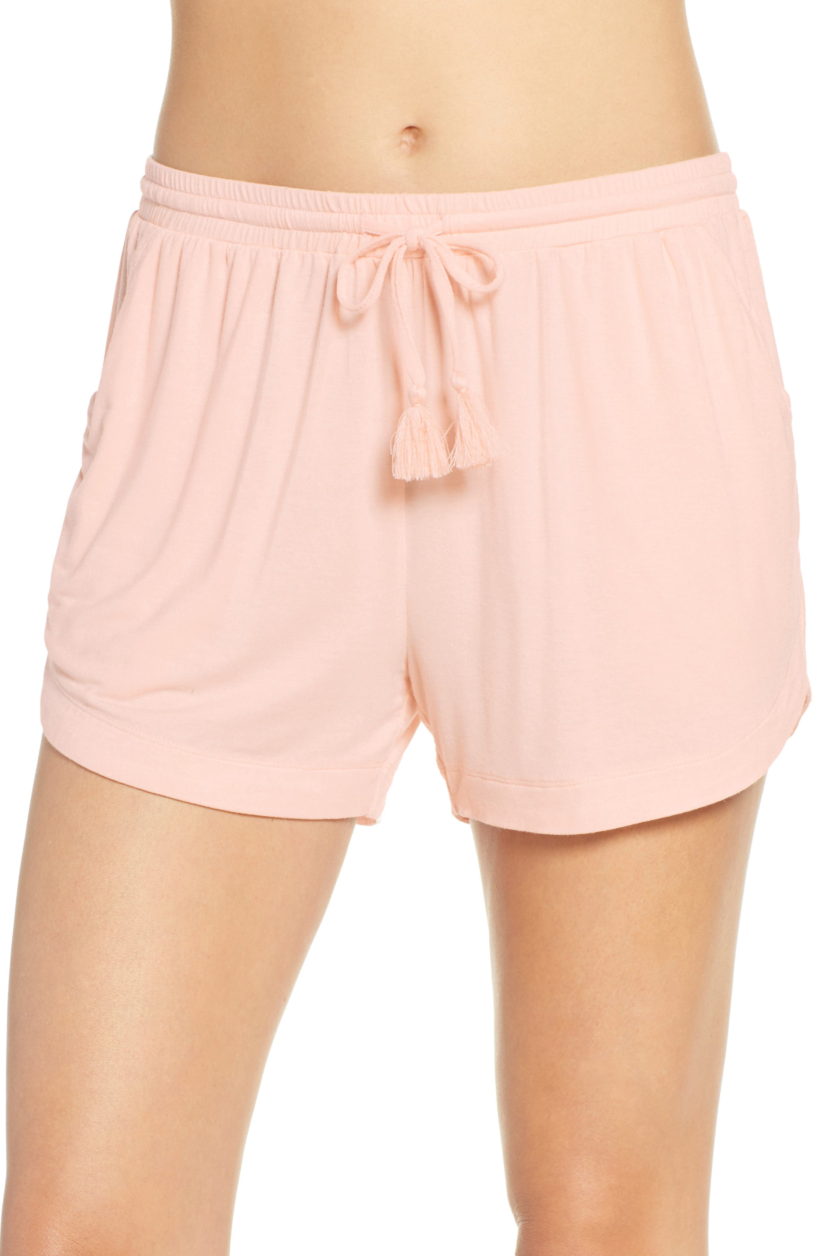 Nordstrom Lingerie Moonlight Pajama Shorts, Pink