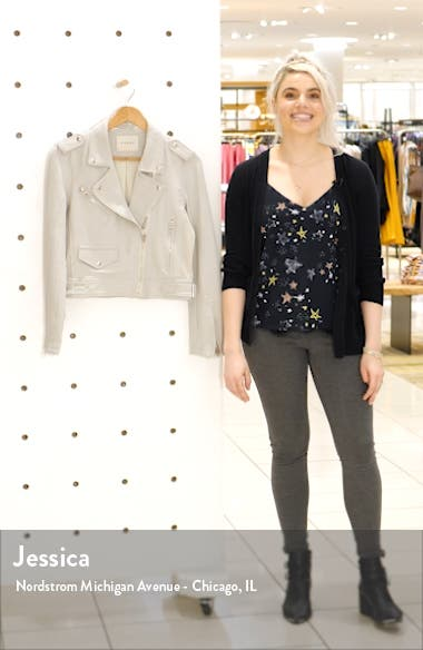 Textured Cotton Moto Jacket, sales video thumbnail