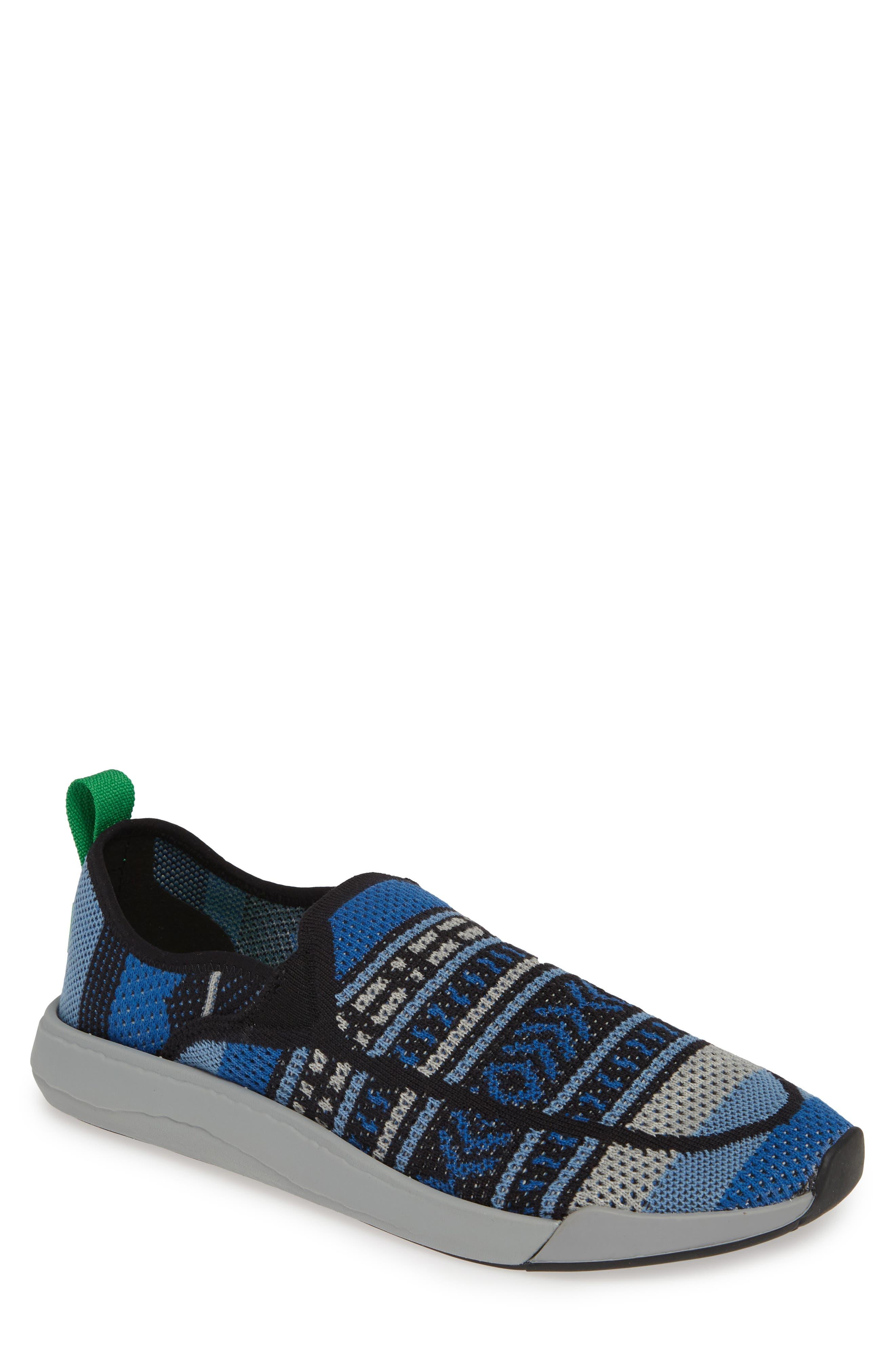 Sanuk Chiba Quest Knit Slip-On Sneaker, Blue