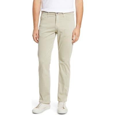 Mavi Jeans Matt Relaxed Fit Stretch Sateen Pants, Beige