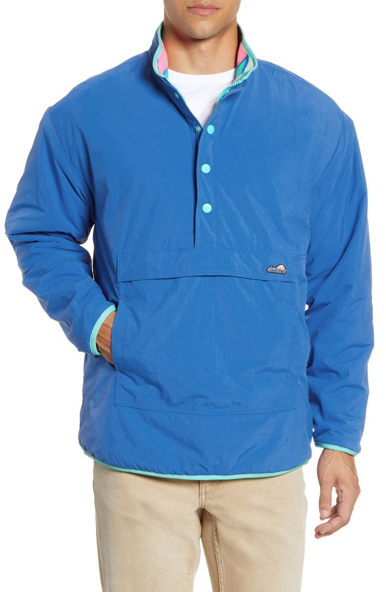 CHUBBIES The Lineup Reversible Quarter Zip Pullover, Main, color, OPEN MISCELLANEOUS