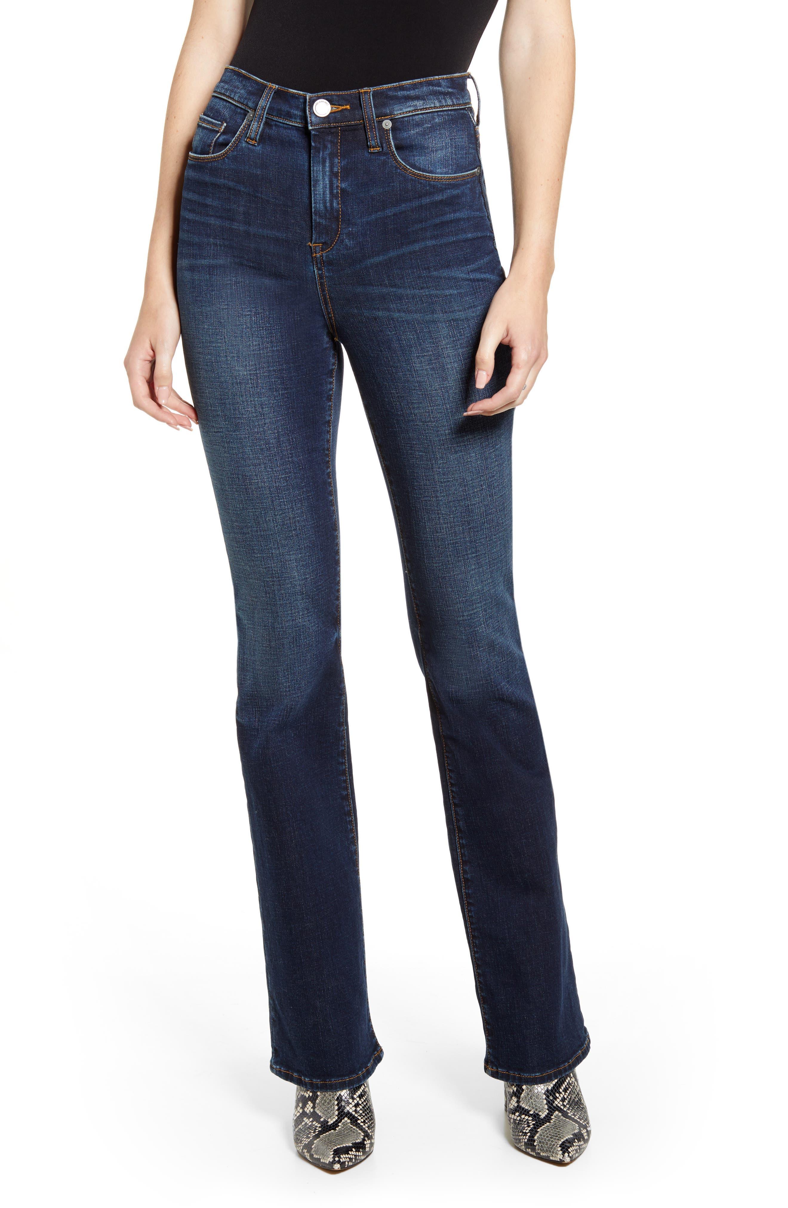 BLANKNYC High Waist Flare Jeans (Counterculture)