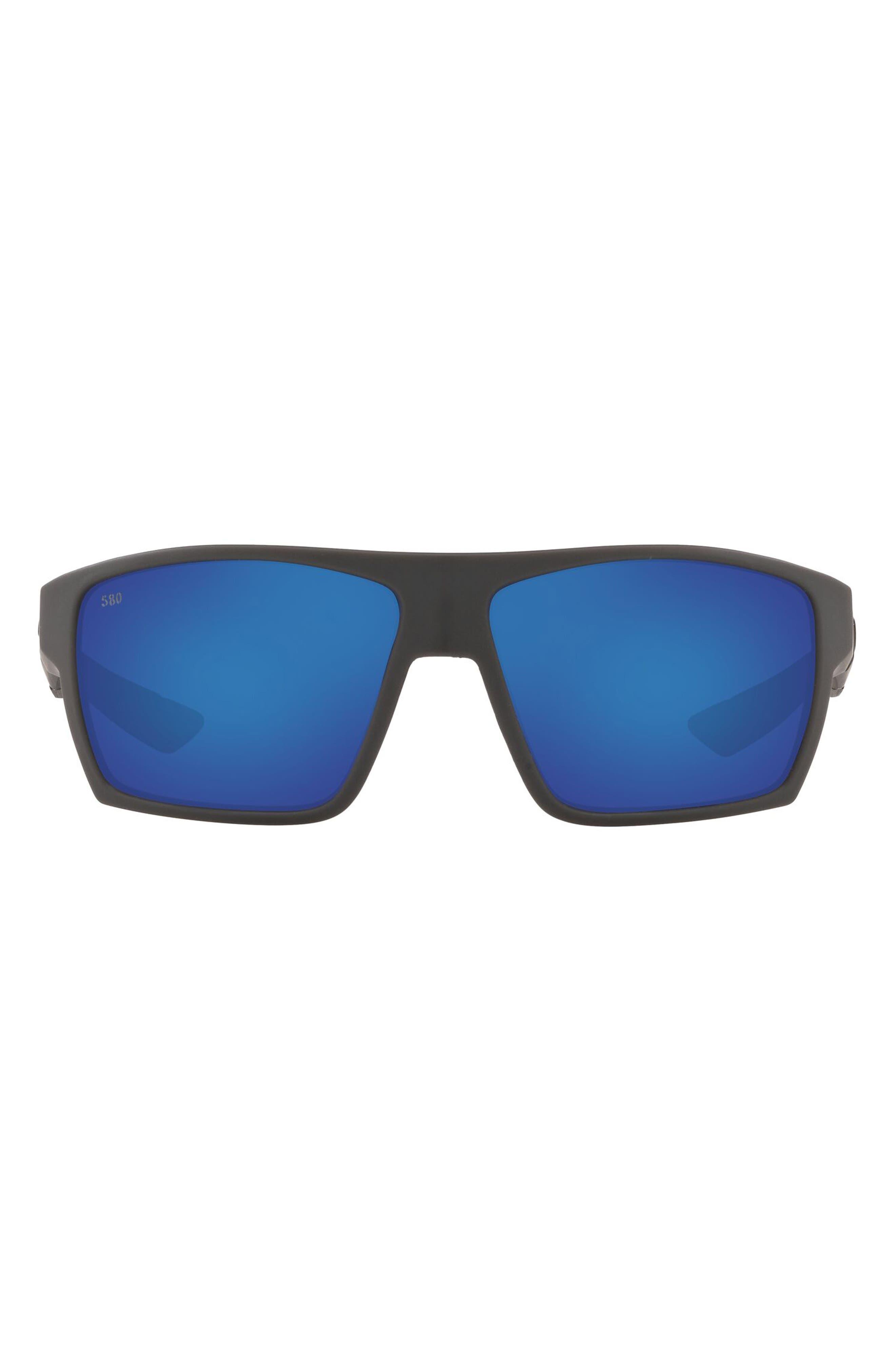 61mm Polarized Square Sunglasses