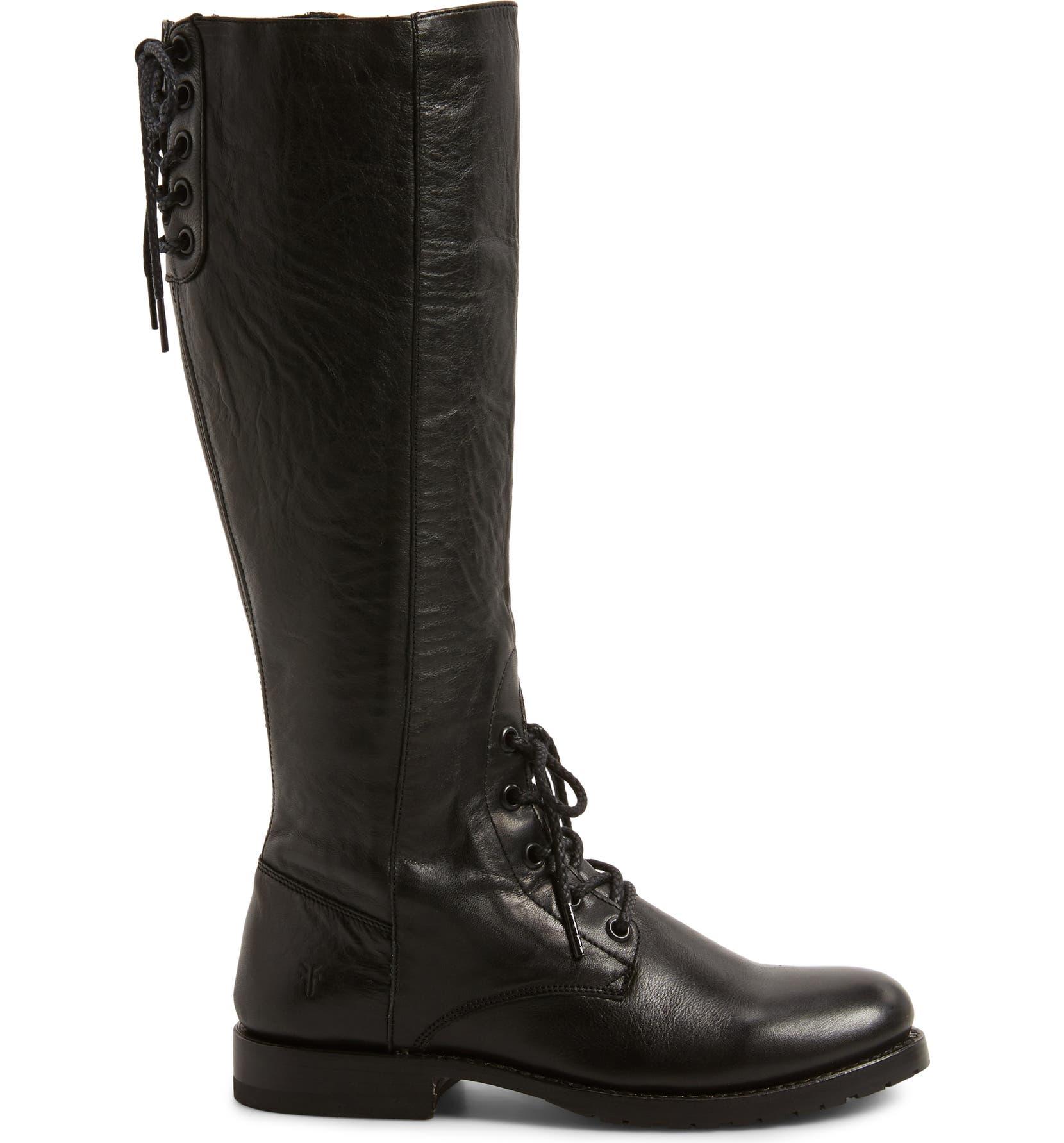 5ceb05a271d Natalie Knee High Combat Boot