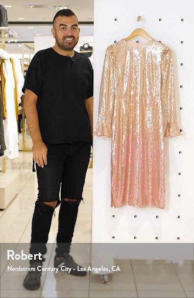 Sequin Long Sleeve Dress, sales video thumbnail
