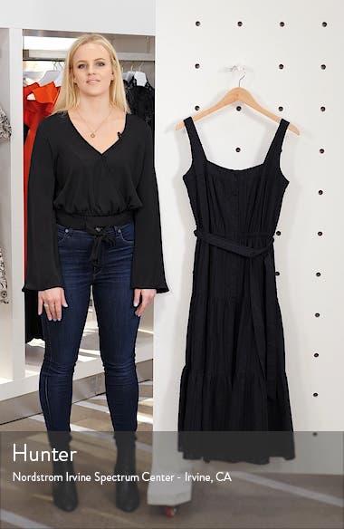Tiered Fit & Flare Midi Dress, sales video thumbnail