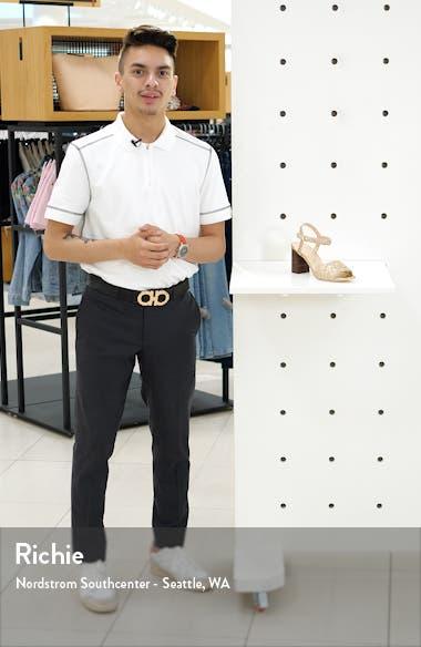 Liana Woven Quarter Strap Sandal, sales video thumbnail