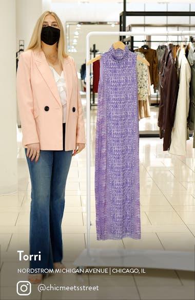 Poste Turtleneck Body-Con Maxi Dress, sales video thumbnail