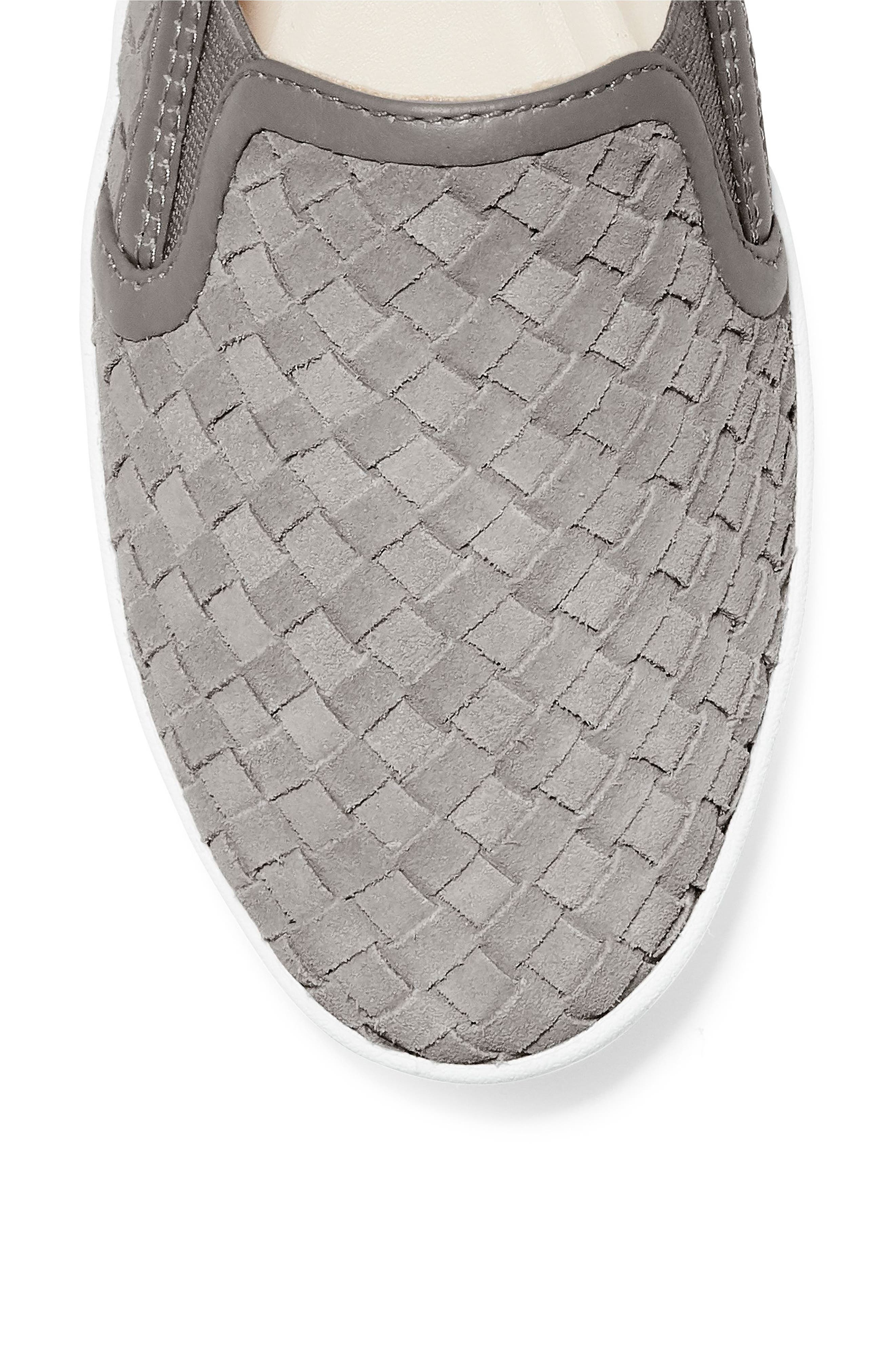 ,                             GrandPro Woven Slip-On Sneaker,                             Alternate thumbnail 7, color,                             IRONSTONE WOVEN SUEDE