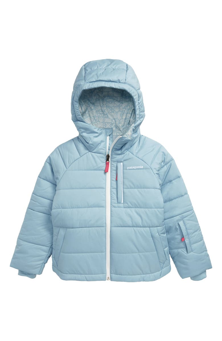 PATAGONIA Grove Water Resistant Hooded Jacket, Main, color, BSBL BIG SKY BLUE