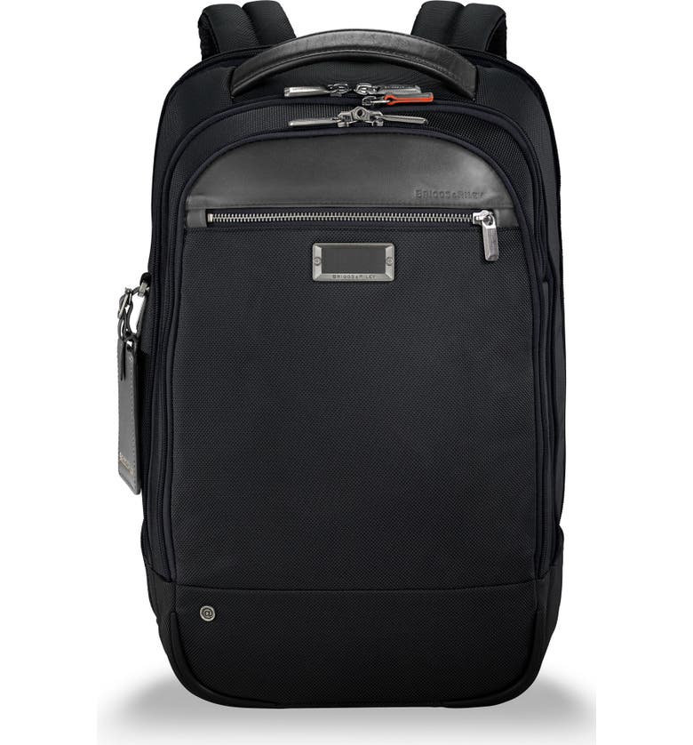 BRIGGS & RILEY @work Medium Backpack, Main, color, BLACK