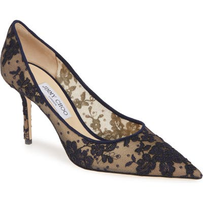 Jimmy Choo Love Lace Pump, Blue