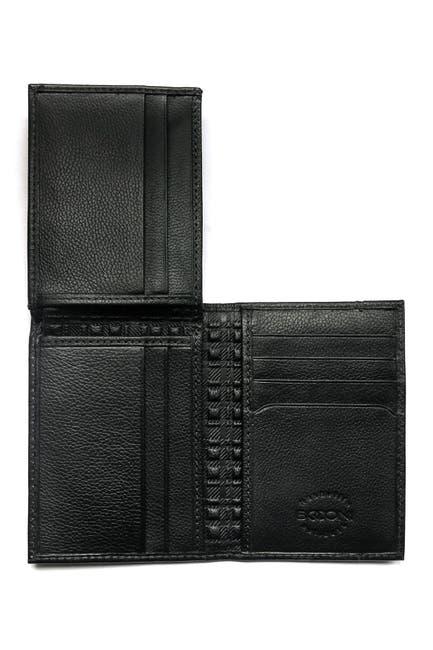 Image of BOCONI Leather Bi-Fold Wallet