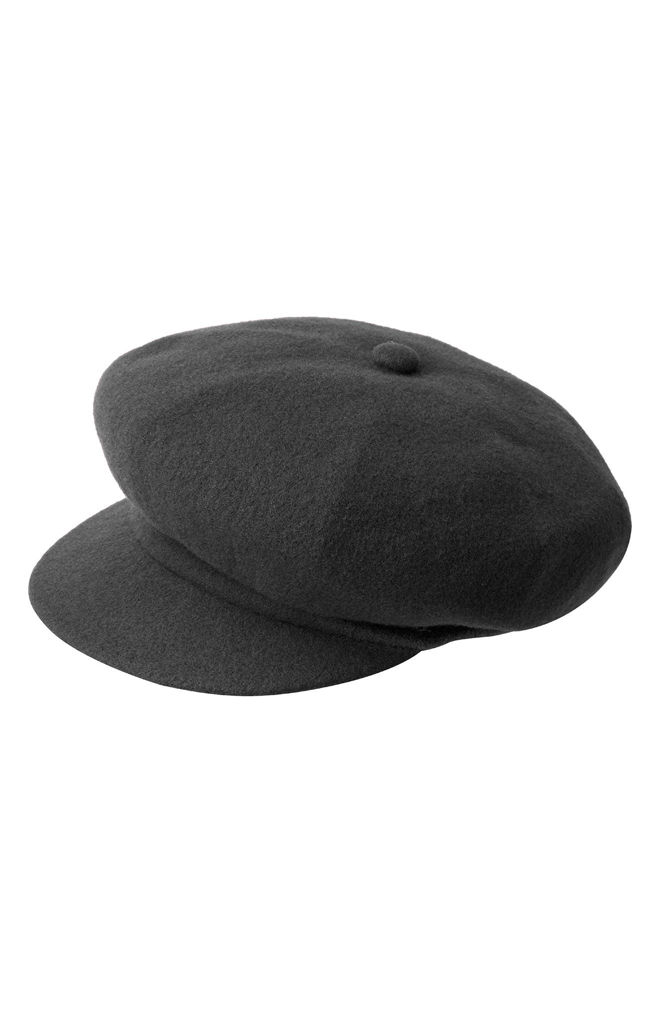 A classic wool blend elevates an oversized newsboy cap with iconic style. Style Name: Kangol Spitfire Wool Blend Newsboy Cap. Style Number: 6099970. Available in stores.