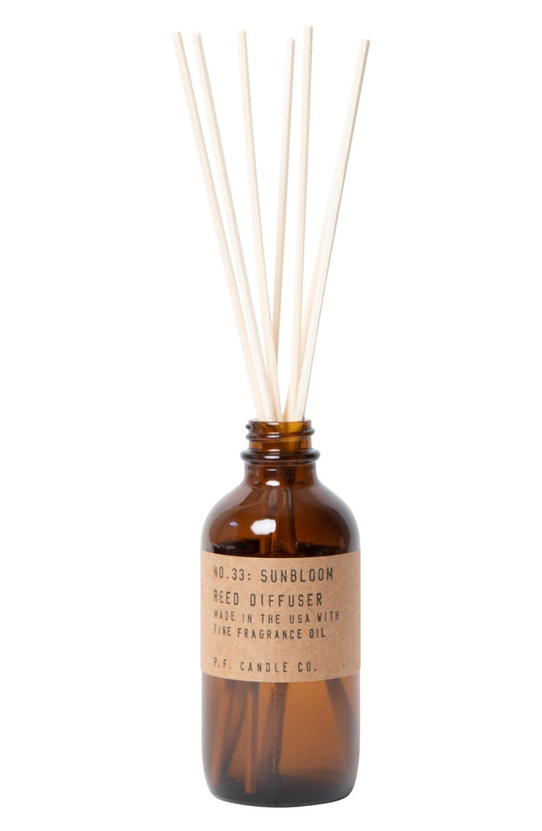 P.F. CANDLE CO. Reed Diffuser, Main, color, SUNBLOOM