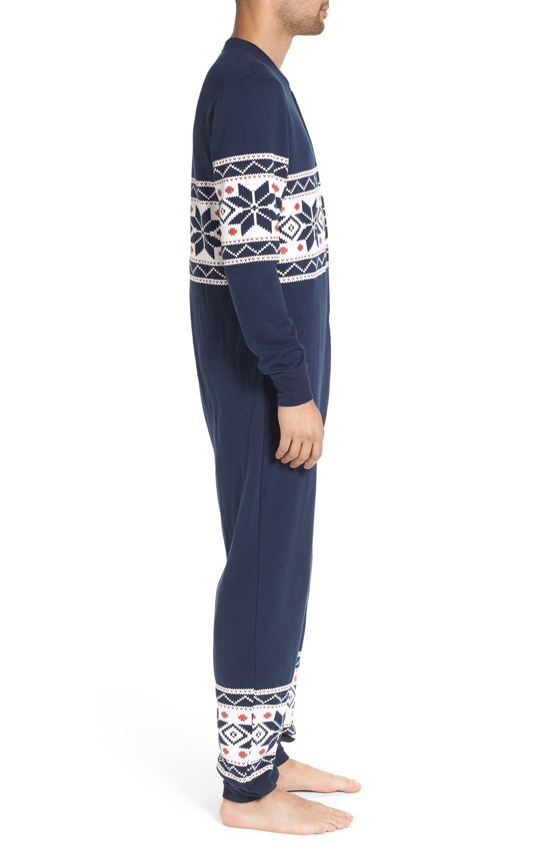 ,                             Fleece One-Piece Pajamas,                             Alternate thumbnail 30, color,                             420
