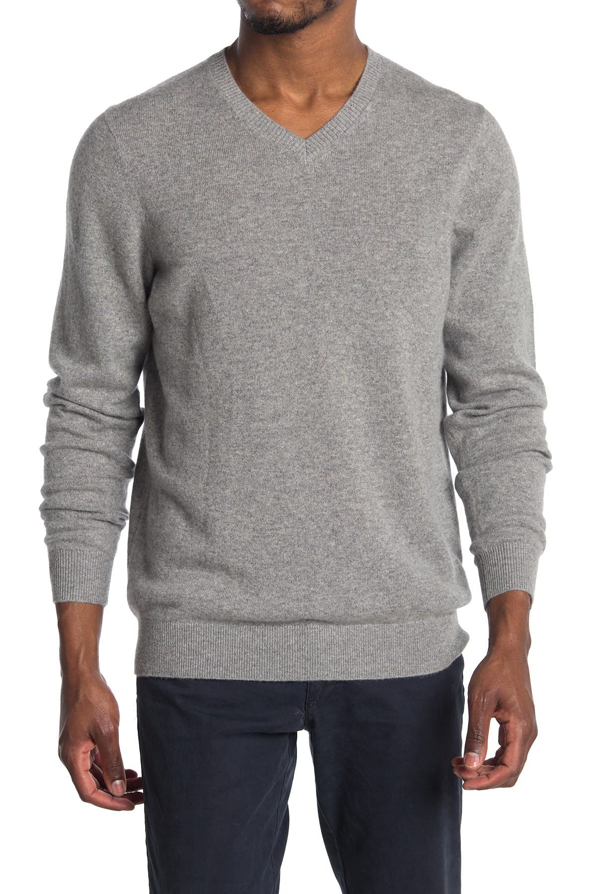 Image of TRAVIS MATHEW Cashmere V-Neck Sweater