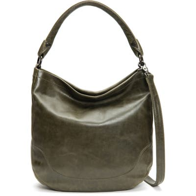 Frye Melissa Leather Hobo - Green