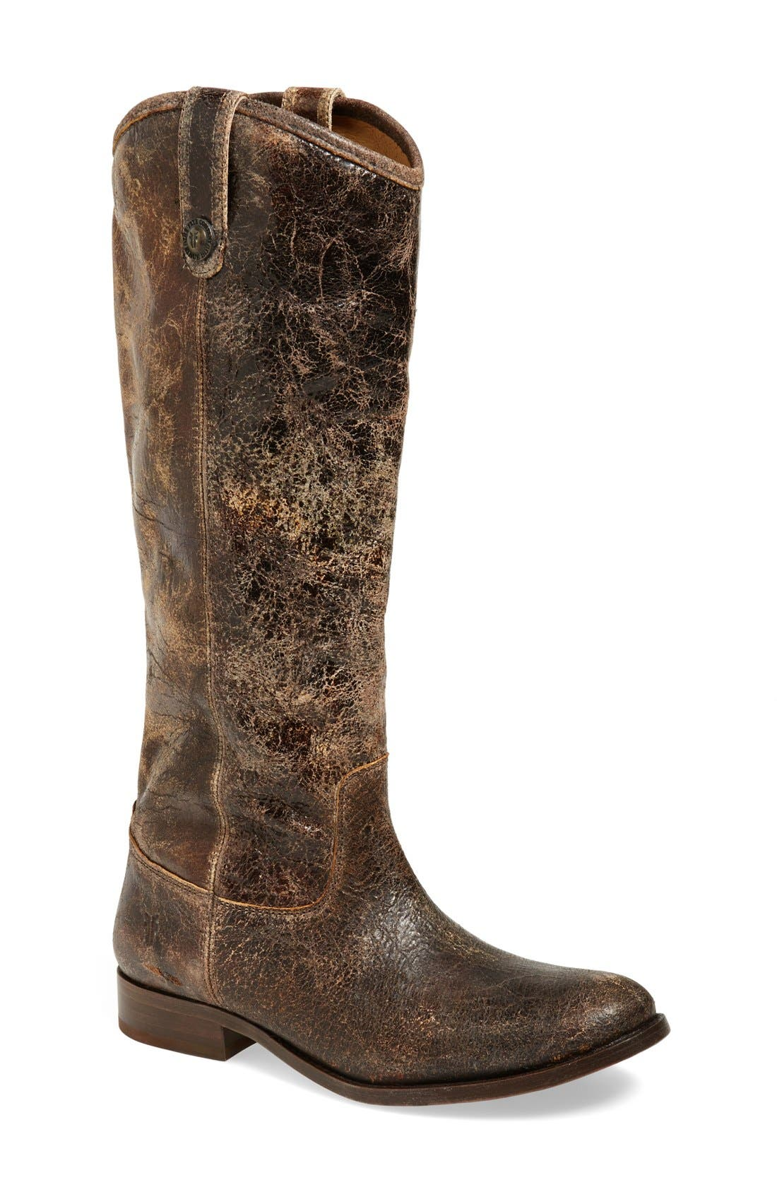 ,                             'Melissa Button' Leather Riding Boot,                             Main thumbnail 72, color,                             209