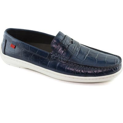 Marc Joseph New York Atlantic Penny Loafer, Blue