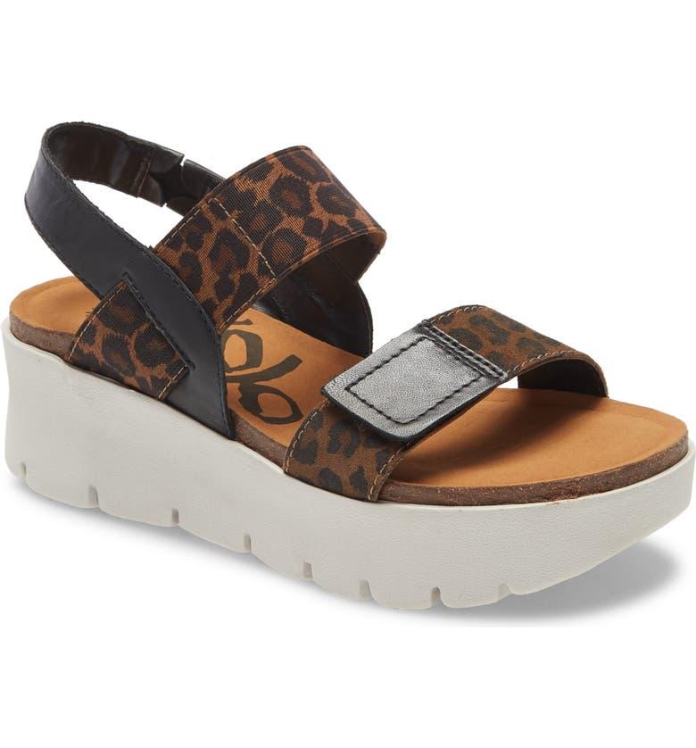OTBT Nova Platform Sandal, Main, color, CHESTNUT SUEDE