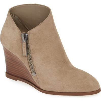 1.state Kaleb Wedge Bootie, Grey