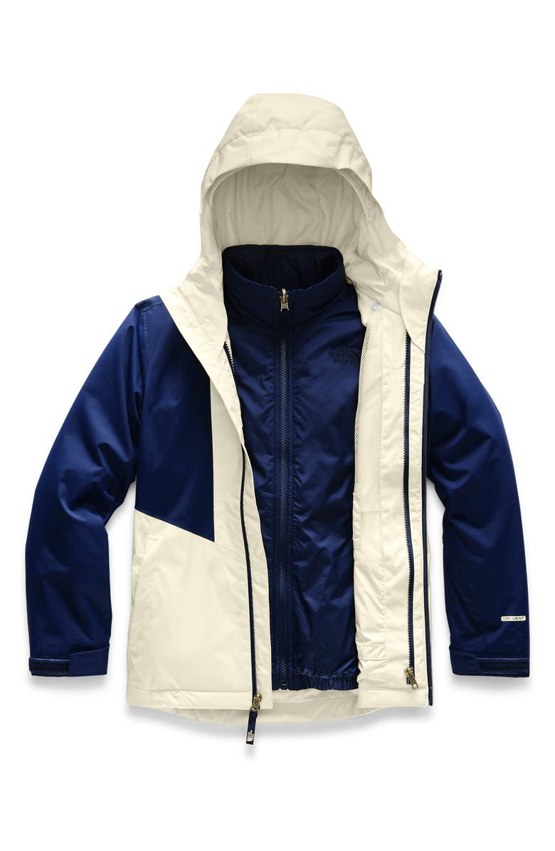 THE NORTH FACE 3-in-1 Clementine Triclimate<sup>®</sup> Jacket, Main, color, 401