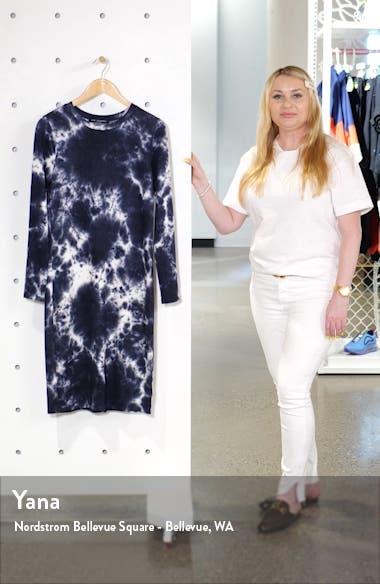 Long Sleeve Midi T-Shirt Dress, sales video thumbnail