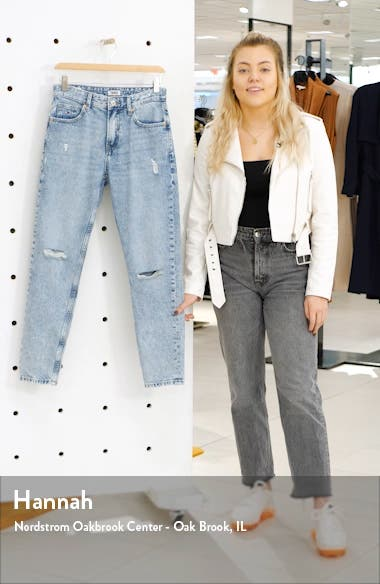 Izzy Ripped High Waist Jeans, sales video thumbnail