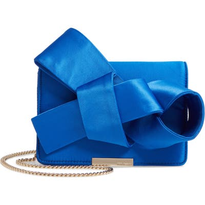 Ted Baker London Janyce Twisted Bow Clutch - Blue