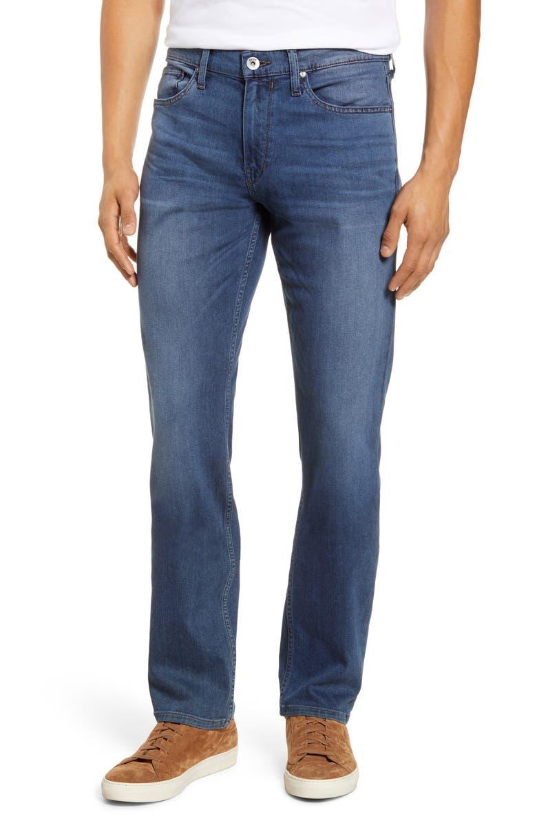 PAIGE Transcend Federal Slim Straight Leg Jeans, Main, color, HAWKE