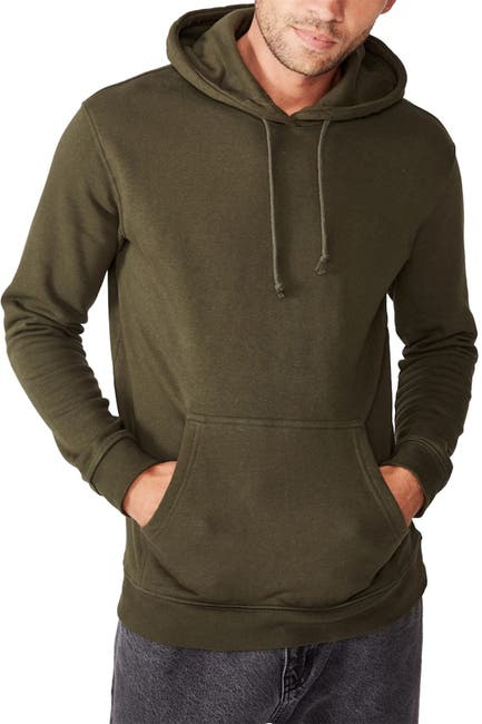 Image of Cotton On Essential Fleece Long Sleeve Pullover