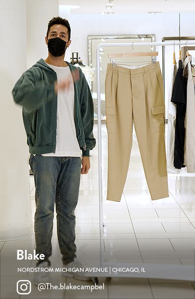 Men's Tapered Cargo Pants, sales video thumbnail