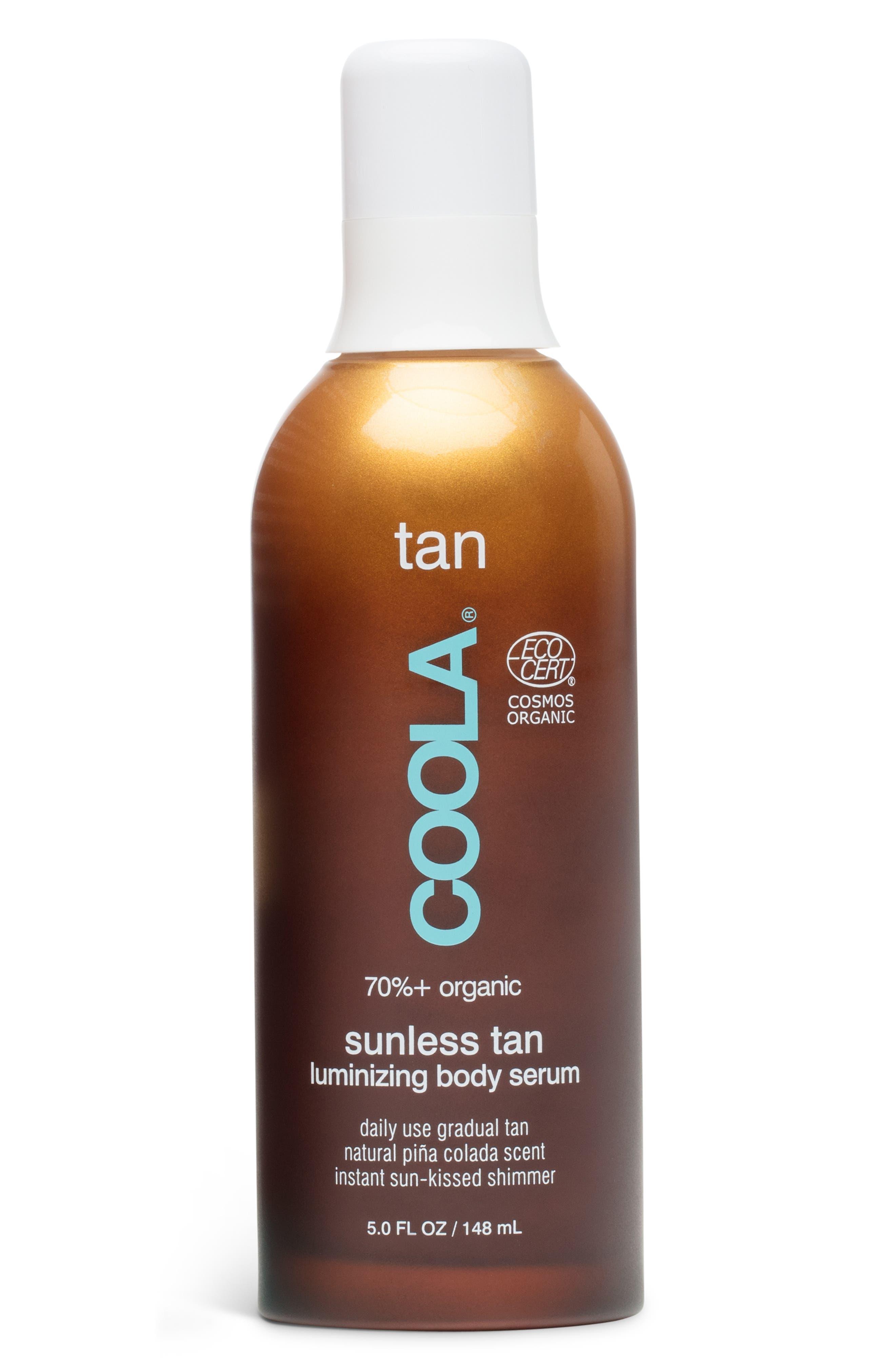 Coola Suncare Organic Sunless Tan Luminizing Body Serum