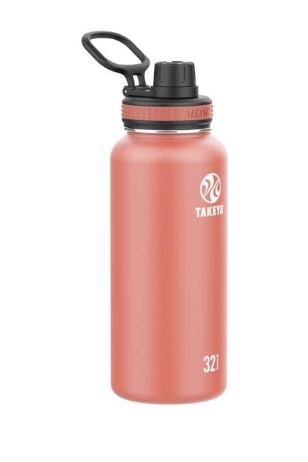 Image of Takeya Sunset Pink 32 oz. Sports Bottle