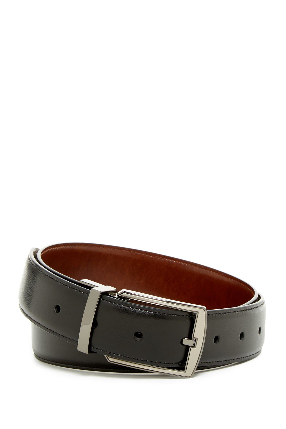 Image of Original Penguin Reversible Leather Belt
