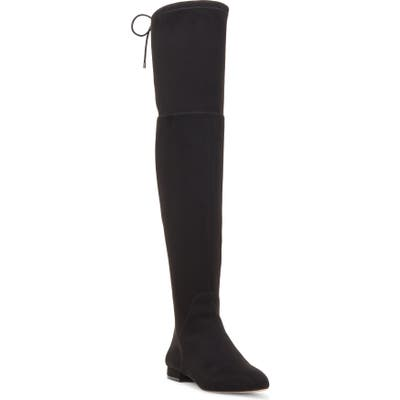 Enzo Angiolini Meloren Over-The-Knee Stretch Boot- Black