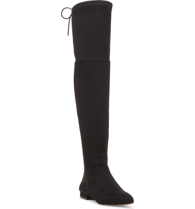 ENZO ANGIOLINI Meloren Over-the-Knee Stretch Boot, Main, color, BLACK FAUX LEATHER