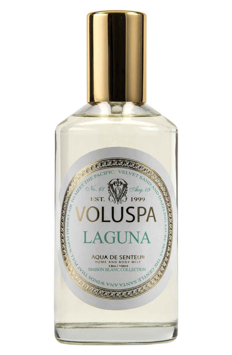 VOLUSPA Maison Blanc Laguna Home & Body Mist, Main, color, NO COLOR