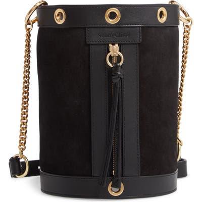 See By Chloe Debbie Leather Bucket Bag - Black