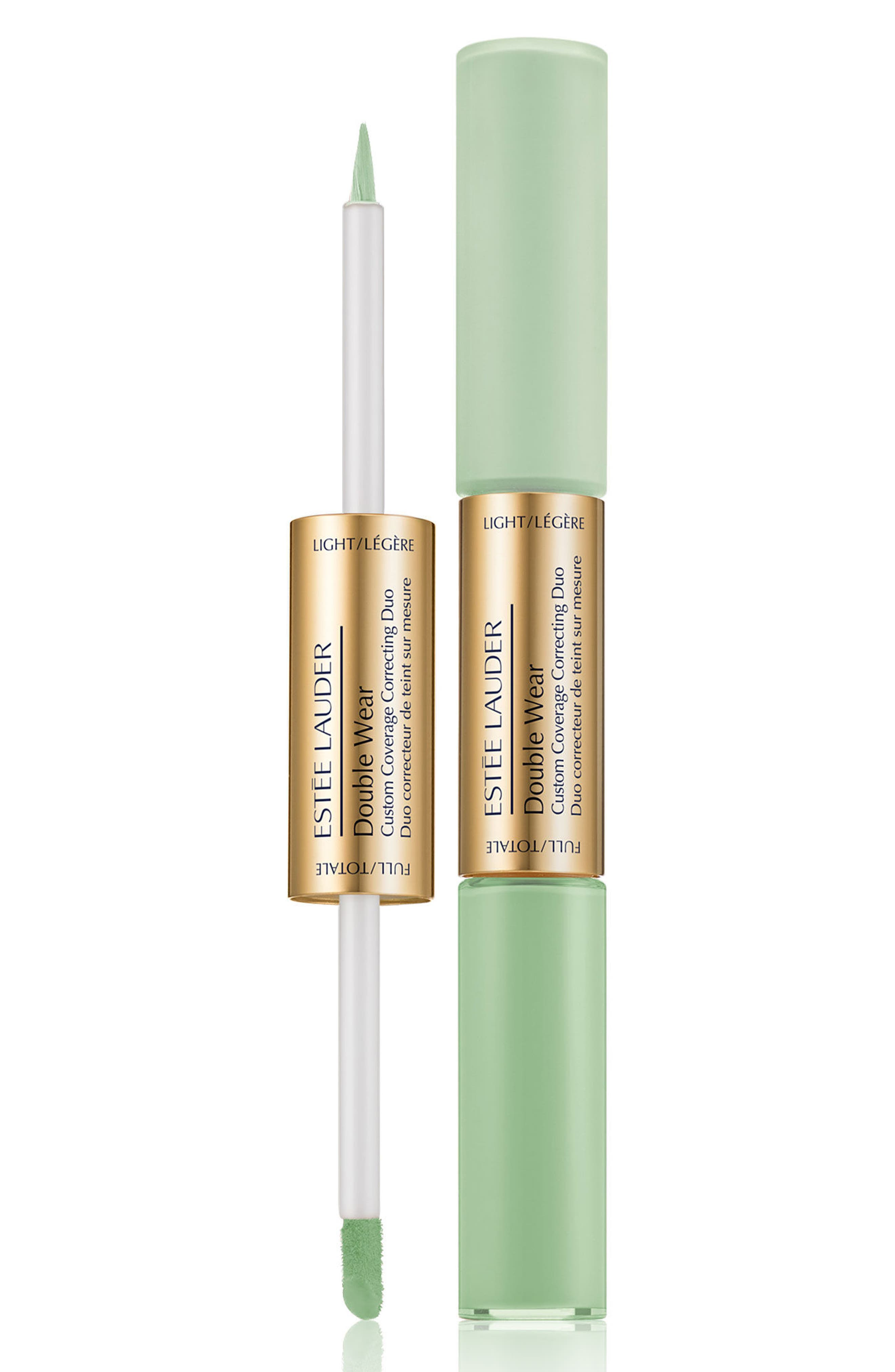 Double Wear Custom Coverage Color Correcting Duo, Main, color, GREEN