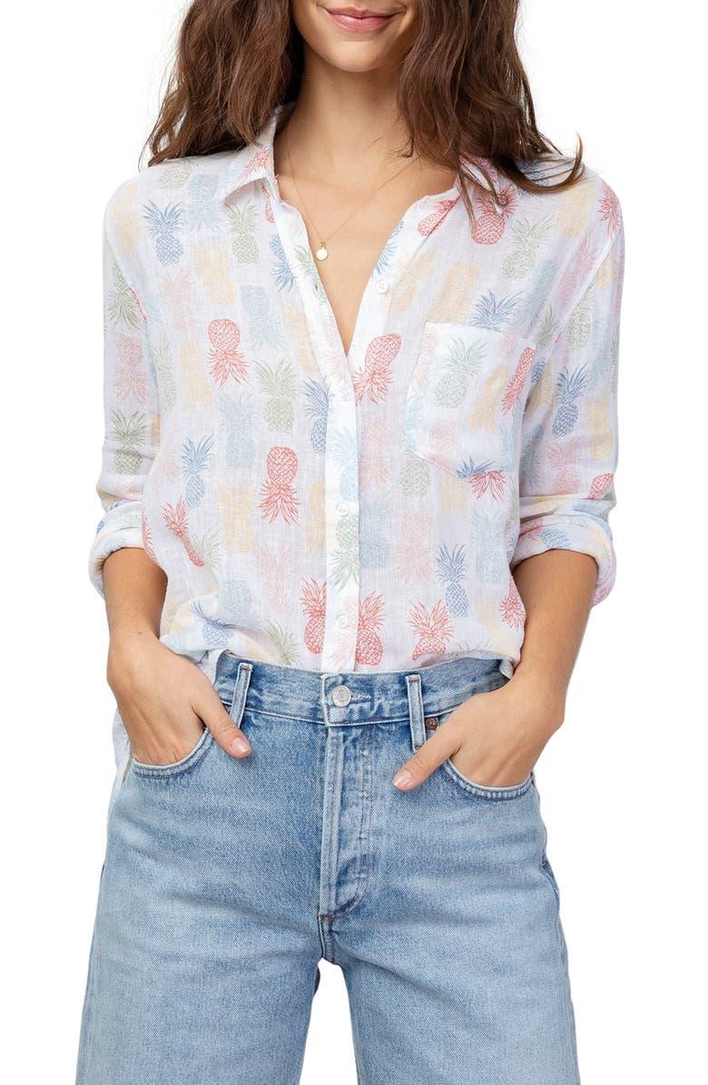RAILS Charli Shirt, Main, color, RAINBOW PINAS