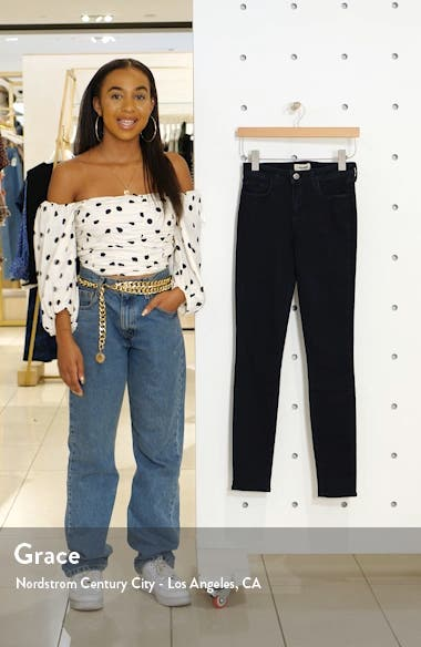 '30' High Rise Skinny Jeans, sales video thumbnail