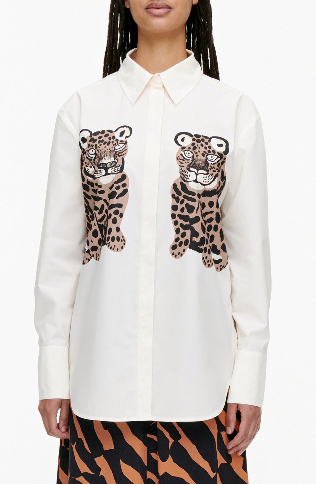 Haavikko Kaksoset Button-Up Shirt