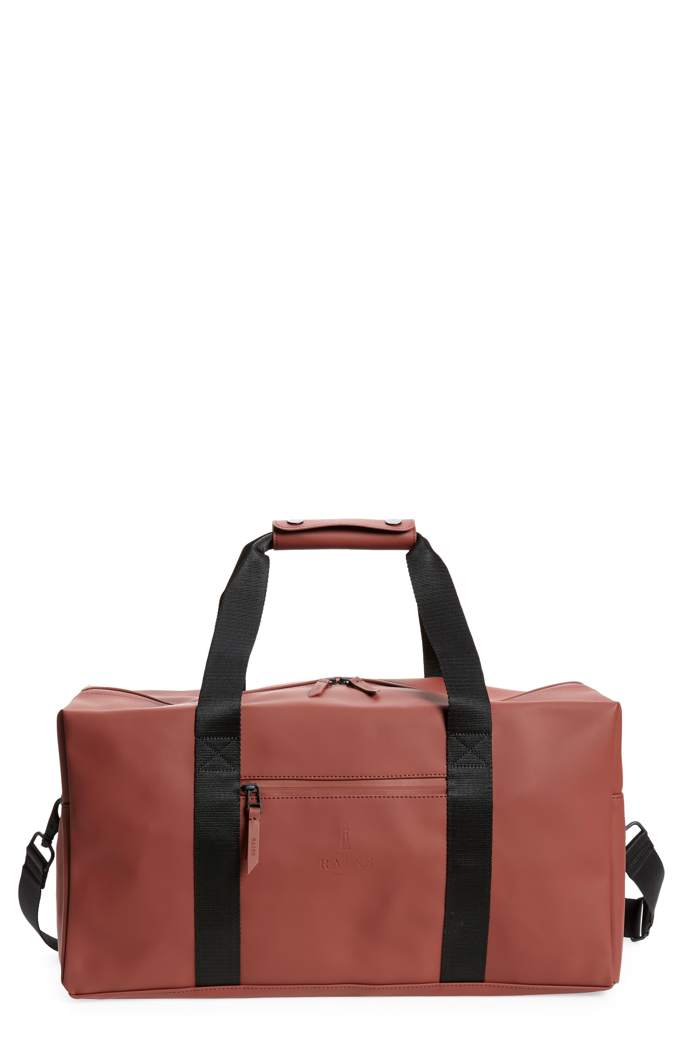 Rains Waterproof Gym Bag - Red