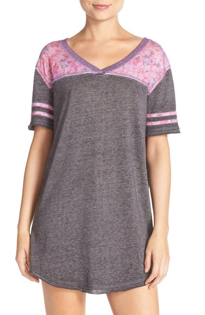 Image of Honeydew Intimates Varsitease Burnout Sleep Shirt