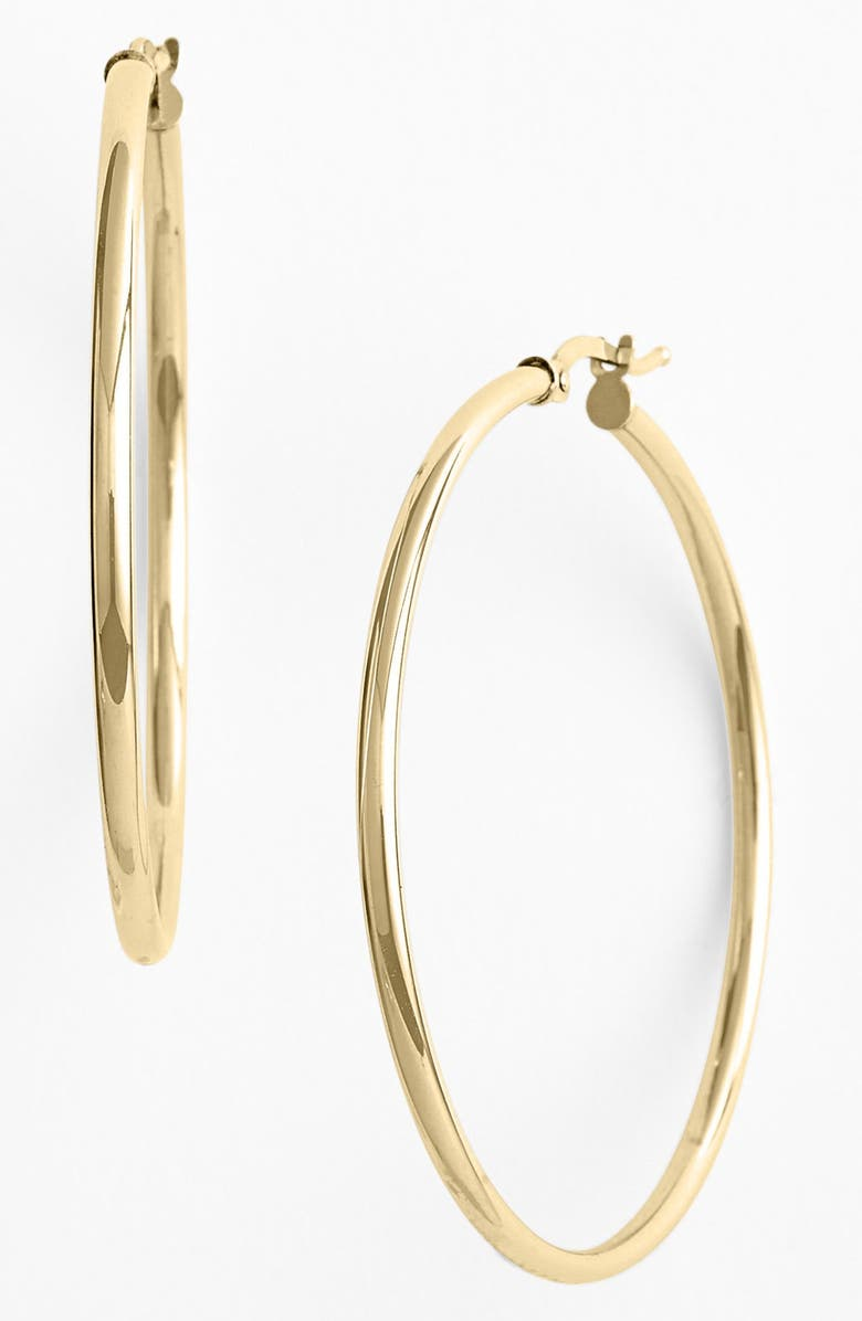 BONY LEVY 14K Gold Hoop Earrings, Main, color, YELLOW GOLD