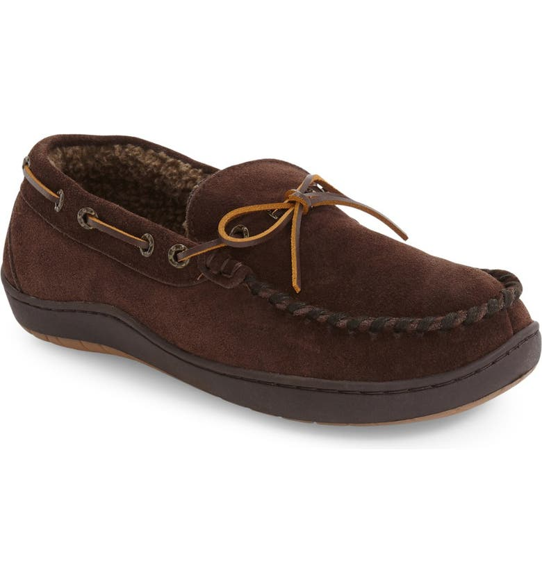 TEMPUR-PEDIC<SUP>®</SUP> Therman Slipper, Main, color, CHOCOLATE