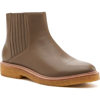 Botkier Chelsea Faux Shearling Lined Boot, Brown